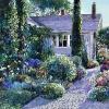 morning garden 30x40